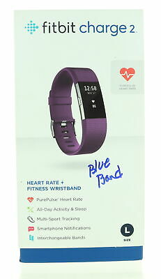 $ CDN48.72 • Buy Smart Watch Fitbit Charge 2 In Original Box With Blue Band