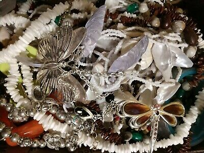 $ CDN16.40 • Buy HUGE Vintage To NOW ESTATE FIND  JUNK DRAWER JEWELRY LOT  Unsearched Untested!!!