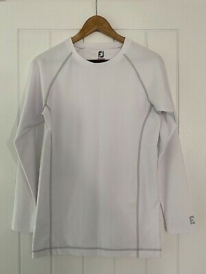 Footjoy Ladies Golf Thermal Base Layer - White - Large  • 2£