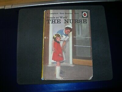 VINTAGE Ladybird Book People At Work THE NURSE Series 606B - Good Condition -  • 8.99£