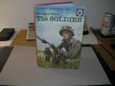 Ladybird Book,The Soldier, People At Work - Vintage 15p NET - Good Condition -  • 3.99£