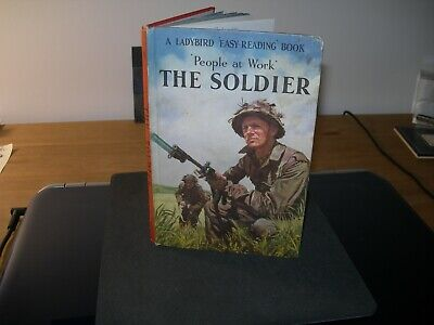 Ladybird Book,The Soldier, People At Work - Vintage 2'6 NET - Good Condition -  • 3.99£