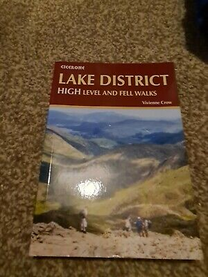 The Lake District: High Level And Fell Walks Paperback Book • 6£