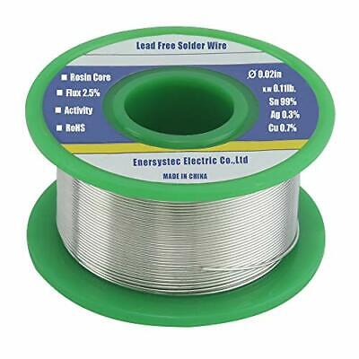 $19.95 • Buy Lead Free Solder Wire Rosin Core Electrical Solder Wire Thin 0.6mm 50g Fine