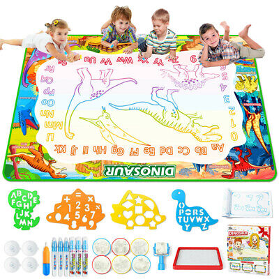 £17.50 • Buy 40x60 Inch Large Aqua Water Magic Drawing Doodle Mat Painting Pads Gift For Kids