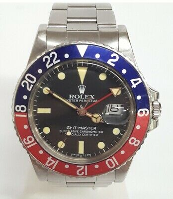 $ CDN14783.79 • Buy Rolex GMT Master 16750 Stainless Steel Mens Watch