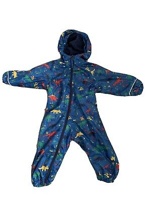 Mountain Warehouse Fleece Lined Dinosaur Puddle Suit 12-18 Months  • 8.50£