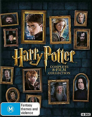 $ CDN73.91 • Buy Harry Potter Complete 8 Movie Film + 8 Special Features New 16 Blu Ray Box Set