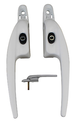 £9.73 • Buy Low Profile Slimline UPVC Double Glazing Window Handle For All Style Of Blinds