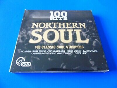 100 Hits Northern Soul - 5 X CD Albums - 100 Classic Soul Stompers. • 2.95£