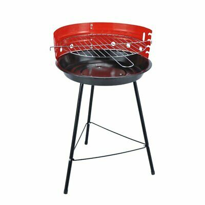 £11.99 • Buy Barbecue BBQ Grill Portable Outdoor Charcoal Cooking Grill 33cm Round Patio UK