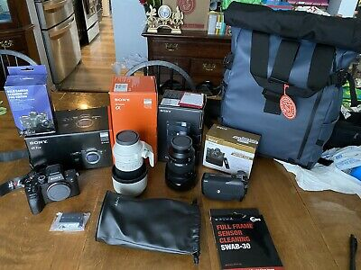 $ CDN8520.52 • Buy Sony A7R IV With Lenses And Lots Of Extras! Complete Photography Kit! CHEAP!