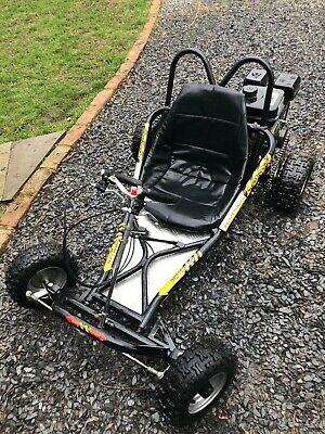 Petrol Go Kart Rolling Chassis / Drift Trike Project / Off Road Kart + Stand • 310£