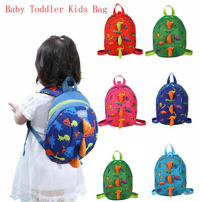 Cartoon Baby Toddler Kids Dinosaur Safety Harness Strap Bag Backpack With  Reins • 5.92£