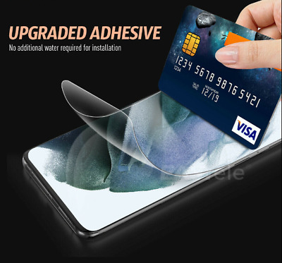 AU4.85 • Buy 2X HYDROGEL Screen Protector Samsung Galaxy S20 Ultra Plus S10 5G S9 S8 Note S2