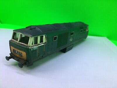 £24 • Buy Hornby GB UK Made Class 35 D7063 Br Green Body & Chassis Weathered OO Loco Train