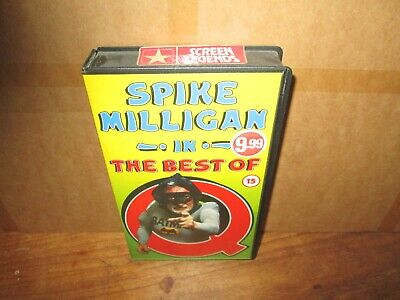 The Best Of Q  Spike Milligan Vhs  • 2.99£