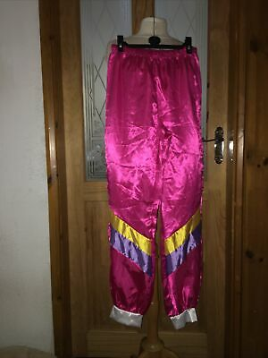 Ladies Shell Suit Vicky Polard Style Trousers Costume Sz 8-10 • 2.50£