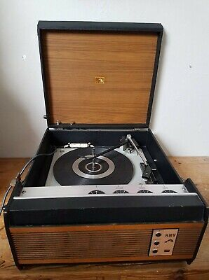 Vintage HMV Model 2040 Record Player (1968) With Built-in Amp • 55£