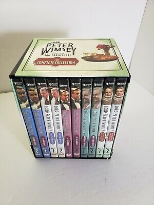 £86.27 • Buy Lord Peter Wimsey -  Dvd Set The Complete Collection, Ian Carmichael, Gly