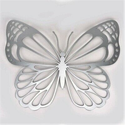 £14.95 • Buy Butterfly Metal Wall Art Laser Cut By Country Living Large 33cm Home & Garden