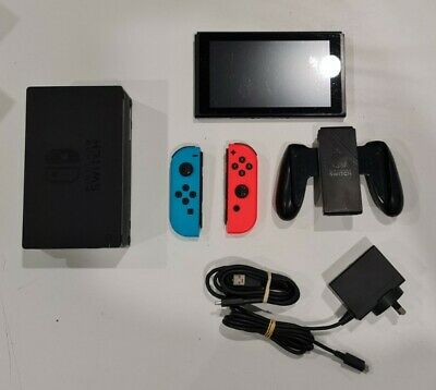 AU202.50 • Buy Nintendo Switch Console 32gb Neon Red Blue Hac-001 Not Patched