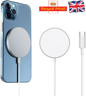 15W  Wireless Charger Fast Charge Pad Magnetic For IPhone 12 Pro Max 12 Mini • 5.99£