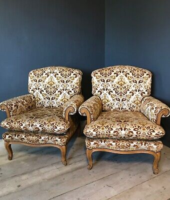 £425 • Buy Antique Pair Of Immaculate Louis Style Armchairs