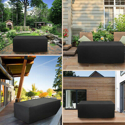 Garden Patio Waterproof Furniture Set Table Chair Rattan Sofa Cover Case Cube UK • 10.97£