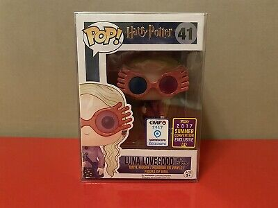 Funko PoP! Harry Potter Luna Lovegood #41 SDCC Exclusive EMP 2017 Gamescom • 241.92£
