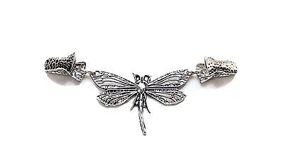 £3.99 • Buy Women's Cardigan Sweater Blouse Shawl Clips Collar Clip Clasps Dragonfly