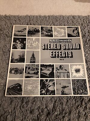£6.80 • Buy BBC Records Stereo Sound Effects No 9 Vinyl Lp