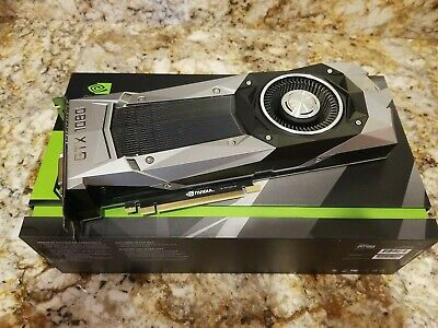 $ CDN79.93 • Buy Nvidia Geforce Gtx 1080 * Founders Edition * 8gb Gddr5 Sdram Pci 3.0 * Unused