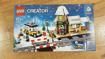 LEGO Creator 10259 Winter Village Station (2017) | New, Unopened, Great! • 150£
