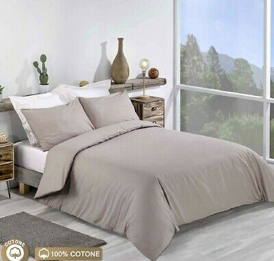 1000 Thread Count 100%Egyptian Cotton In UK Size Hotel Super Soft  Beige  Solid • 79.99£