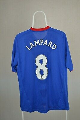 Chelsea Adidas No.8 Lampard Jersey Home Shirt 2010-2011 Size M • 42£