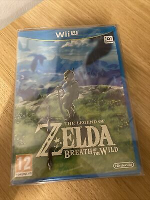 AU77.54 • Buy Legend Of Zelda : Breath Of The Wild (Wii U, 2017) New And Sealed + Protector