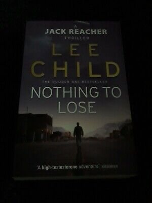 LEE CHILD BOOK Book NOTHING TO LOSE • 1.49£