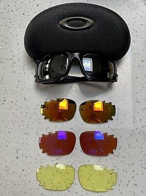 AU77.54 • Buy Oakley Sunglasses Jawbone With 4 Sets Of Lenses