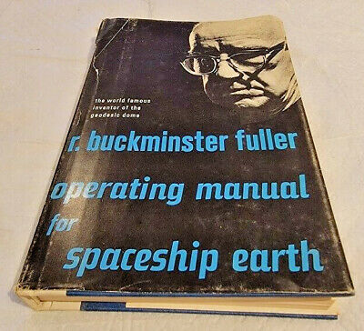 Operating Manual For Spaceship Earth By R. Buckminster Fuller 1970 SIGNED J81 • 97.68£