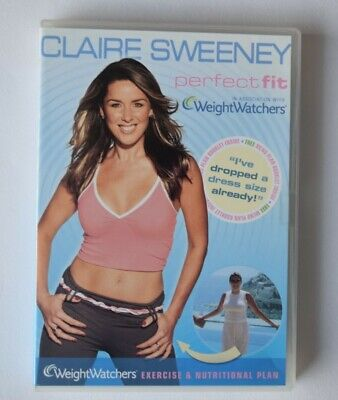 Claire Sweeney - Perfect Fit With Weight Watchers(DVD, 2007) Very Good Condition • 1.25£