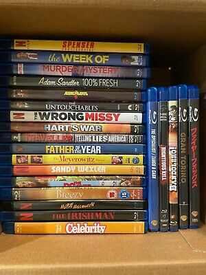 AU32.18 • Buy Pick & Choose - Blu Ray Movie Dvd Lot