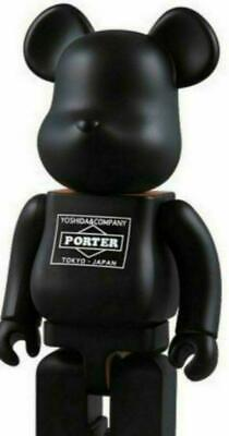 $525 • Buy Medicom Toy BE@RBRICK Porter 400% Karimoku Yoshida Kaban Wooden Japan Rare New
