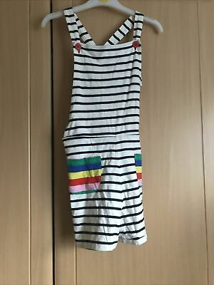 Boden Dungaree Shorts Age 11-12 • 4£