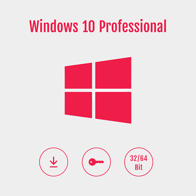 $ CDN18.12 • Buy MS Windows 10 Professional | Win 10 Pro | 32 & 64 Bit | Key |Vollversion|EXPRESS