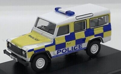 1/76 Code 3 Police Oxford Diecast Land Rover Defender Station Wagon • 15£