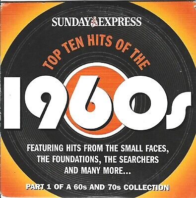 £1.49 • Buy TOP TEN HITS OF THE 60's - DISC 1 OF 2 - SUNDAY EXPRESS PROMO MUSIC CD