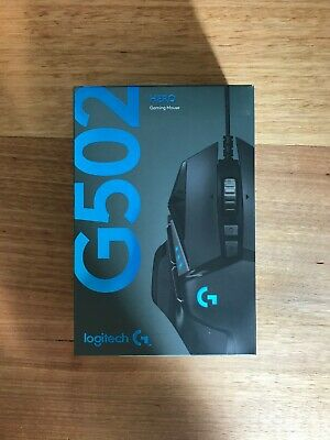 AU40 • Buy Logitech G502 Hero Black 11 Button Programable USB Gaming Mouse Onboard Memory