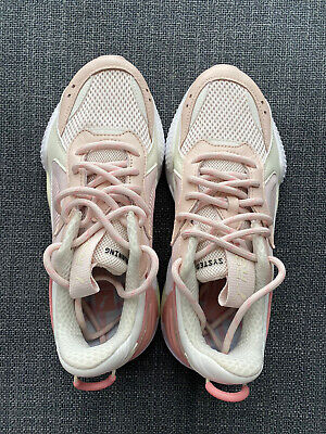 AU60 • Buy Brand New Puma Running System RS Mauve Marshmallow Pink Runners US 5.5