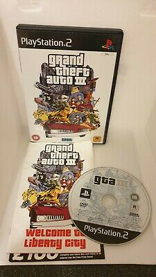 £1.99 • Buy Grand Theft Auto 3 - Sony PlayStation 2 Gta 3 Ps2 Game #S